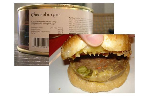 You Can Now Buy Canned Hamburgers In Some Countries