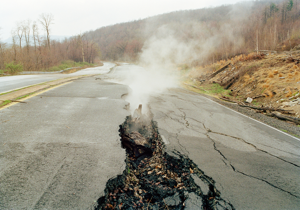 An 8 Mile Wide Fire Has Been Burning For Over 50 Years In Pennsylvania And No One Can Put ItOut