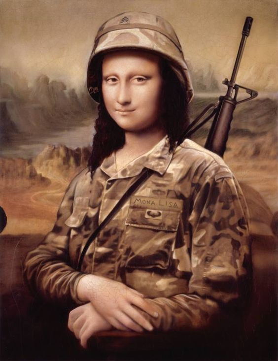 Leonardo da Vinci Painted The Mona Lisa And Also Designed Killing Machines