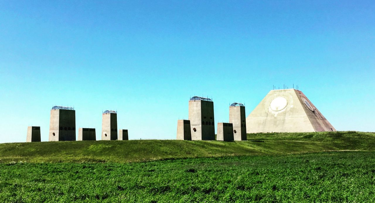 Have You Seen The Billion Dollar Pyramid Made By The U.S. Military With A Small Site Next To It That Looks Like A Modern DayStonehenge