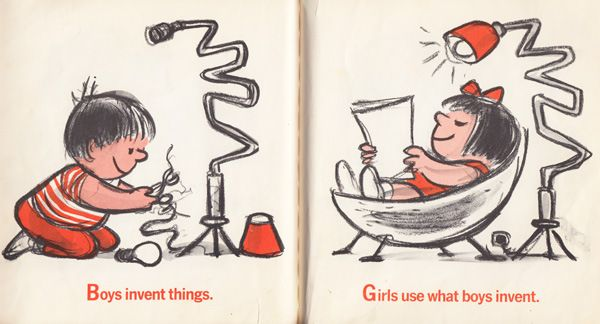 1970 Children's Book Illustrates What Makes Boys Happy Versus What Makes Girls Happy And Earns A Spot As One Of The Most Sexist Books Ever Made