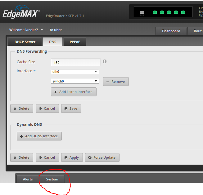 Configure OpenDNS for Ubiquiti EdgeRouter EdgeMAX | Reality