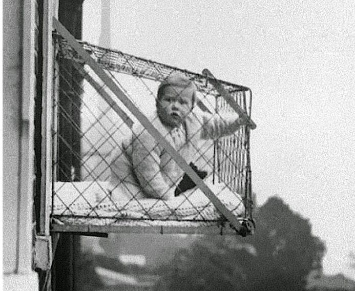 People In London Put Babies In Cages And Hung Them Out Windows Because Of A Nursery Book