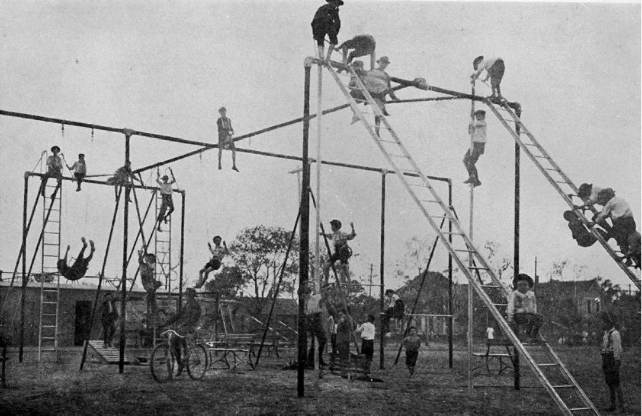 Remember When We Designed Playgrounds To Hurt Children So That Cars Wouldn't Kill Them