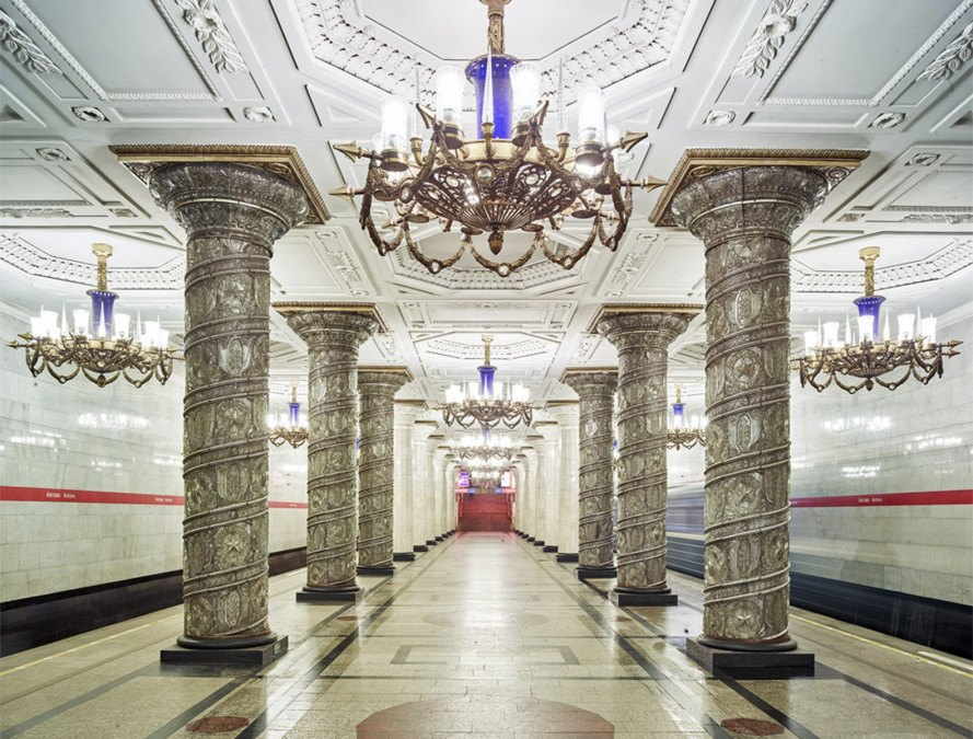 Have You Seen Some Of The Train Stations In Russia, It's Like Walking Into AMuseum