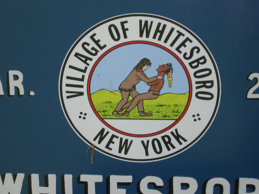 Have You Seen The City Seal Of Whitesboro, NY That Shows A White Man Choking An American Indian To Death