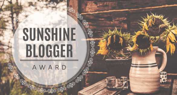 I Have Been Nominated For My 2nd Sunshine BloggerAward
