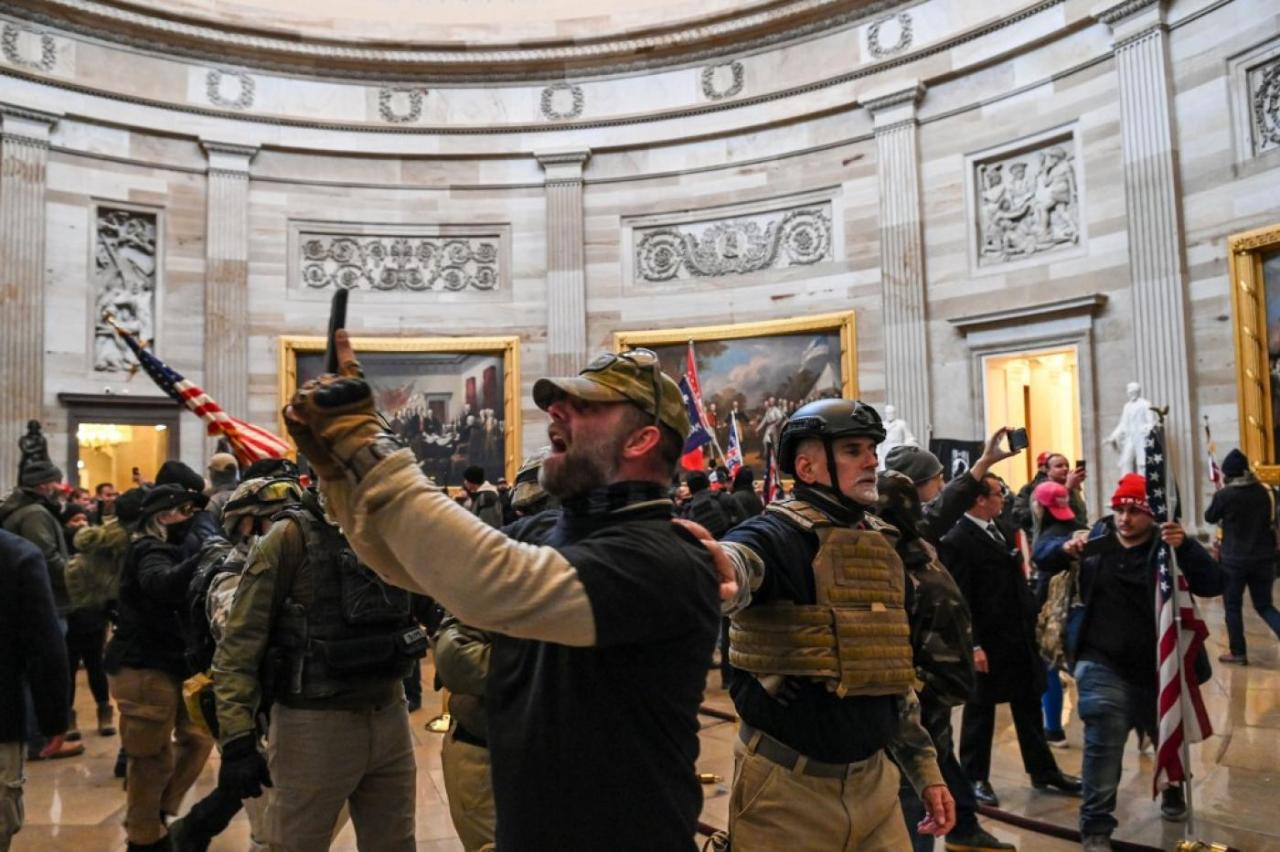 Did Antifa Attack The Capital Or Did The MAGACoalition
