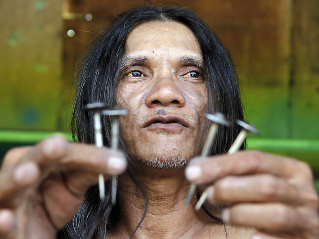 Meet Ruben Enaje The Man Who Has Been Crucified Over 30Times