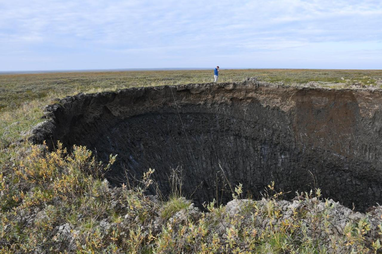 Have You Seen The 16 Giant Craters That Appeared Out Of Nowhere InSiberia