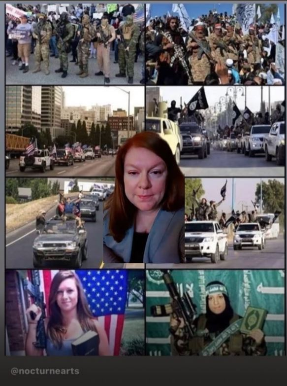 A Strange Similarity Has Been Found, By A Media Reviewer, Between ISIS And MAGA But What Does ItMean